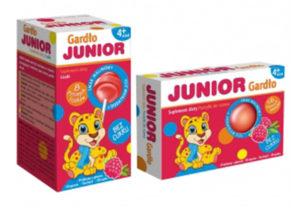 Junior Gardło - bez cukru